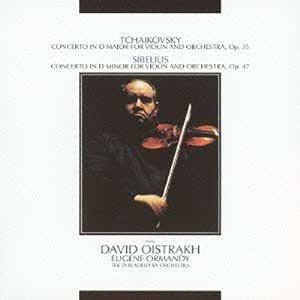 チャイコフスキー:ヴァイオリン協奏曲/シベリウス:ヴァイオリン協奏曲