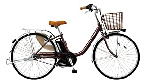 Panasonic(パナソニック) ビビ・ライト・U 電動自転車 2016年モデル 6.6Ah 内装3段 BE-ELDU43T チョコブラウン 24インチ