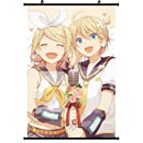 Forti Vocaloid Anime Wall Poster Kagamine Rin Kagamine Len 16 inch x 24 inch w/Scroll A