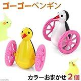 みずよし貿易 ゴーゴーペンギン カラーおまかせ2個 鳥 鳥用おもちゃ