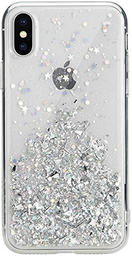 iPhone Xs Max ケース 星柄 キラキラ ラメ 入り ファッション ハード ケース ストラップ ホール 付き SwitchEasy StarField [ Apple iPhoneXs Max アイフォンXsマックス ] ウルトラクリア