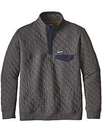 Patagonia パタゴニア M's Cotton Quilt Snap-T P/O メンズ ハーフジップ Tシャツ 長袖 (FGE):25371