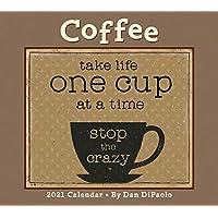 Coffee 2021 Deluxe Wall Calendar