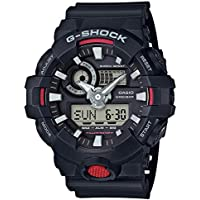 GSHOCK Men's Automatic Wrist Watch analog-digital Display and Resin Strap, GA700-1A
