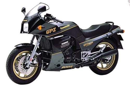 青島文化教材社 1/12 バイク No.08 カワサキ GPZ900R ニンジャA6 輸出仕様