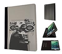 351–Banksy Graffiti Darth VaderデザインApple iPad Pro 9.7インチ2016ファッショントレンドTpuレザーフリップケース保護財布ポーチBookスタイルDefenderスタンドカバー