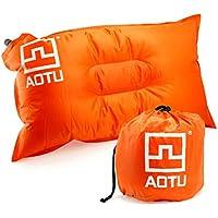 SunniMix キャンプ枕 圧縮 インフレータブルピロー クッション 空気枕 旅行ピロー エアクッション 全4色