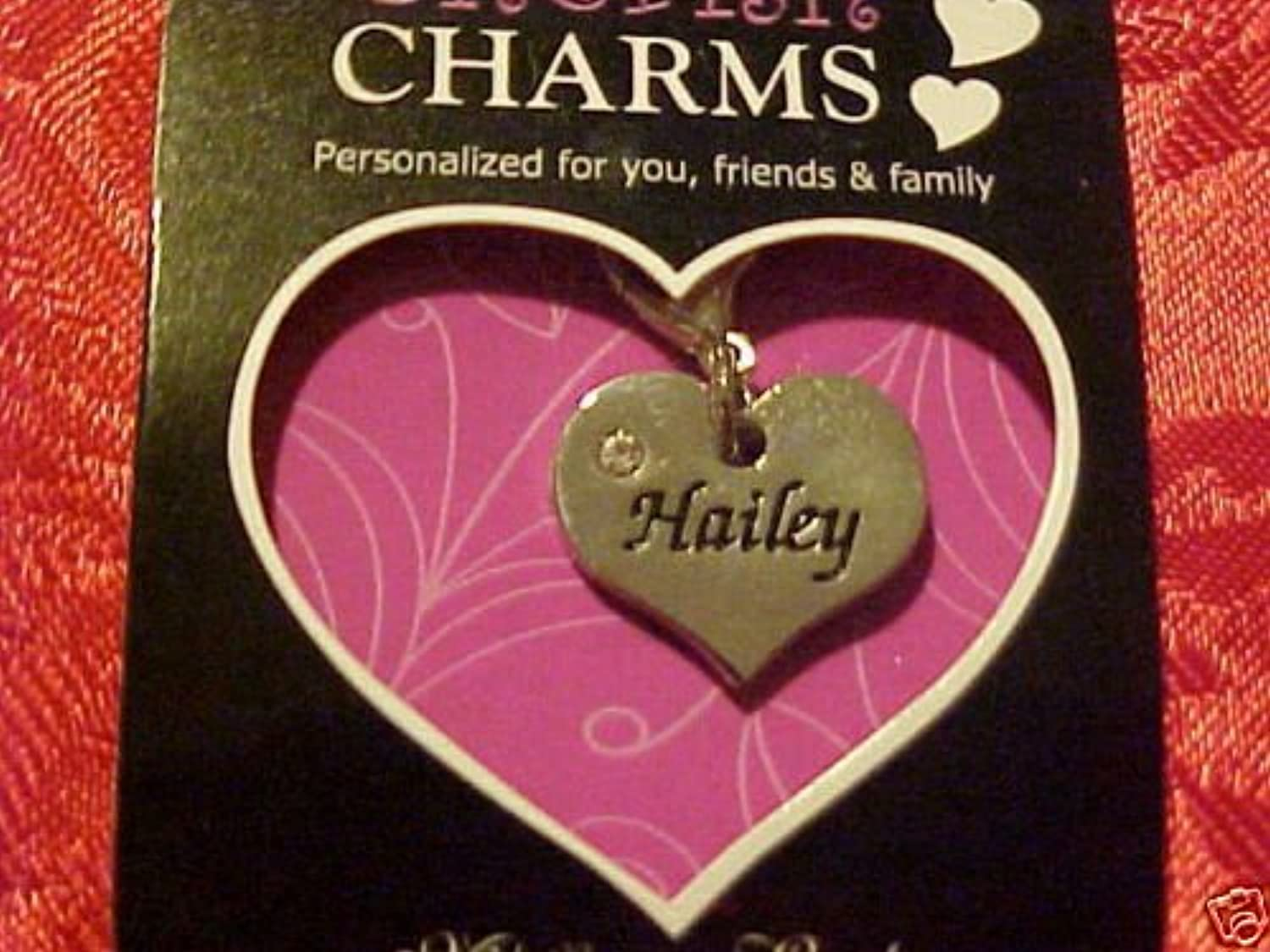 Cherish PersonalizedチャームHaley