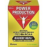 グリコ パワープロダクション エキストラ ハイポトニックドリンク クエン酸&BCAA グレープフルーツ味 1袋 (12.4g) 10本