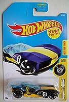 Hot Wheels 2017 Experimotors Sky Dome 50/365 Blue and Yellow [並行輸入品]