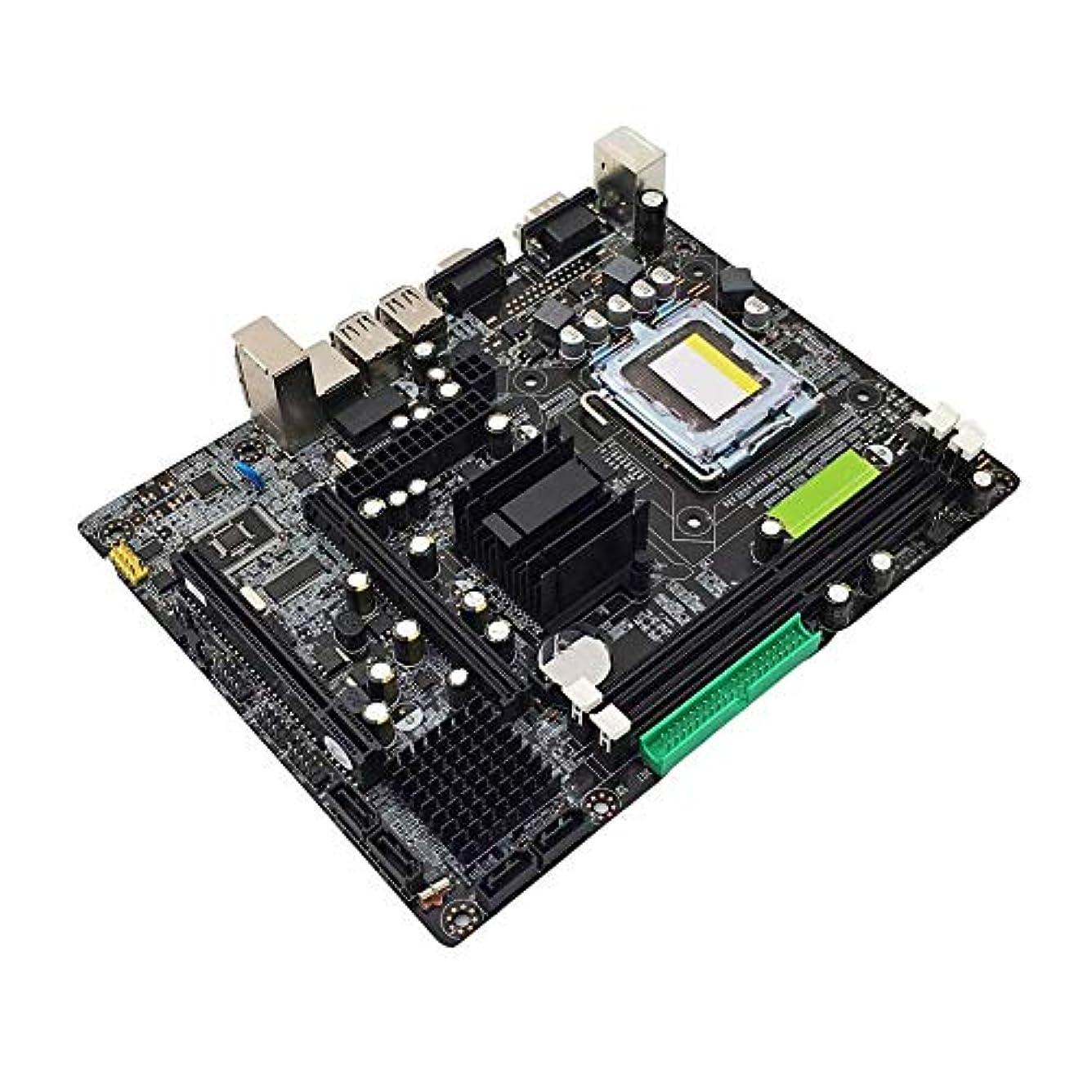 動再現する以降945 マザーボード 945GC+ICH チップセット LGA 775 デュアルチャンネル DDR2 メモリメインボード G31の交換用