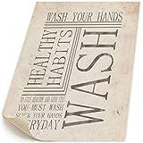 新聞 手を洗う キャンバス 装飾 油絵 塗り絵 ホームデコレーション