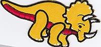 iron on patch embrodery パッチにアイロン 刺繍 little cute dino dinosaur 恐竜