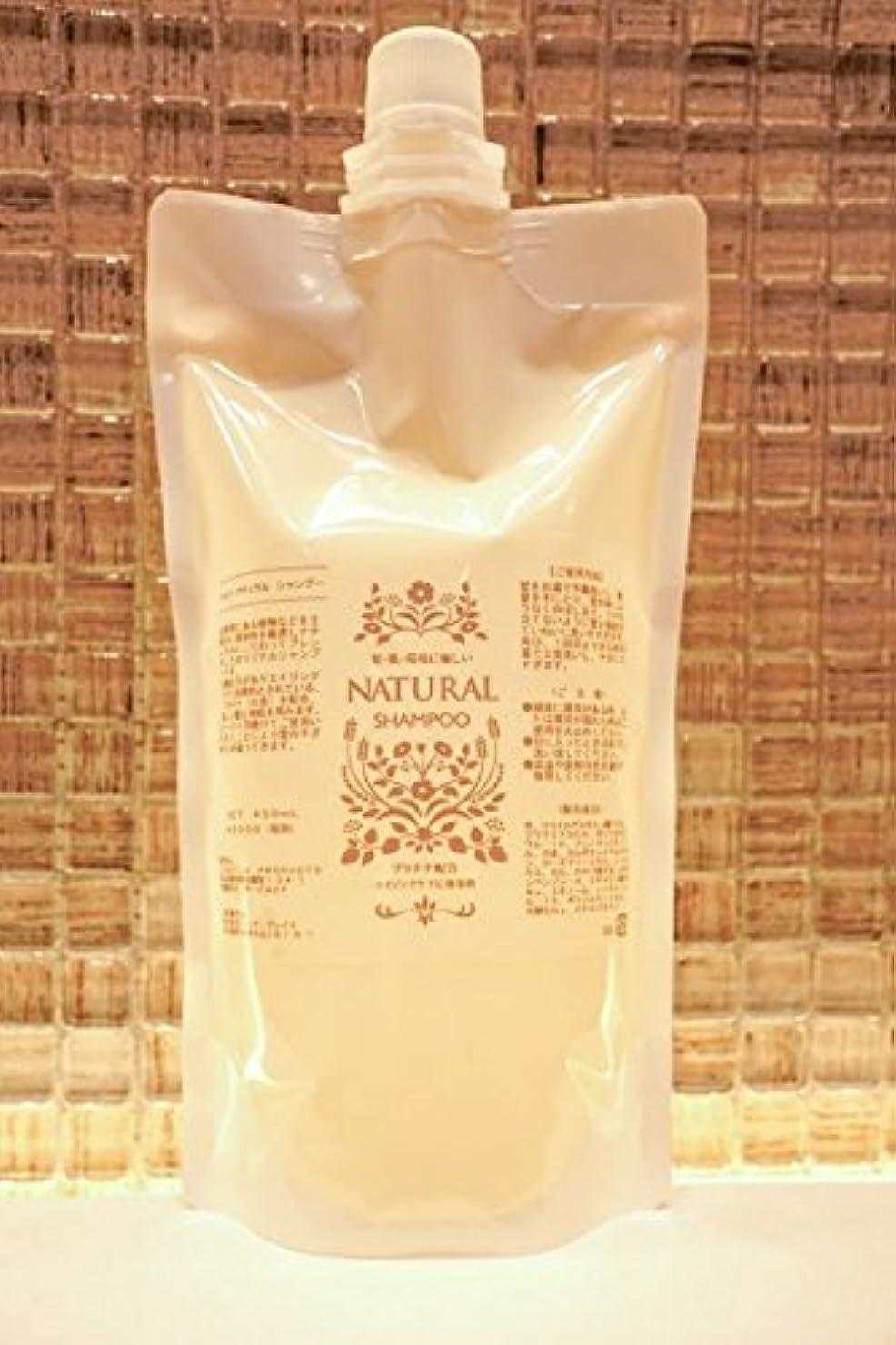 期限定義やろうÇÁETLÁ NATURAL シャンプー 450ml 詰替え用(花の香り)
