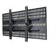 テレビ壁掛け金具 ホッチキス止め TVセッター壁美人 TI200 Mサイズ ブラック TVSKBTI200MB