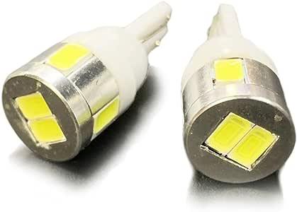 エブリィワゴン DA64 ポジションランプ LED バルブ T10 ウェッジ球 ホワイト 2個セット サムスン製 ヘッドライト