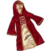 Lovoski ファッション 布製 人形服 衣装 スカート 18インチアメリカガールドール人形用 レッド ドレス
