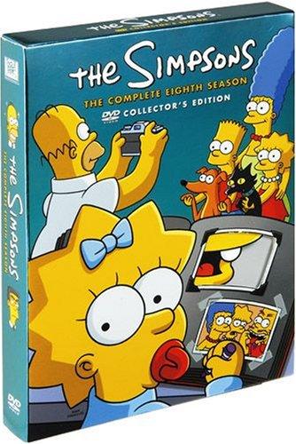 ザ・シンプソンズ シーズン8 DVDコレクターズBOXの詳細を見る