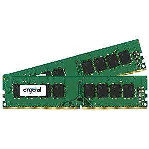 Crucial [Micron製] DDR4 デスク用メモリー 16GB x2 ( 2133MT/s / PC4-17000 / CL15 / 288pin / DR x8 Unbuffered DIMM ) 永久保証 CT2K16G4DFD8213