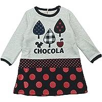 【秋冬物】 chocola(ショコラ) 薄手裏毛ワンピース 110cm /オートミール NO.CH-1512-52069