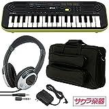 CASIO カシオ ミニキーボード 32ミニ鍵盤 SA-46 サクラ楽器オリジナルセット[ACアダプター・ケース・ヘッドフォン]