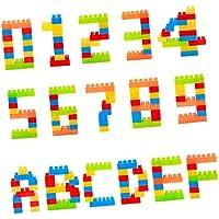 KESOTO 子ども 贈り物 知育玩具 立体パズル ブロック ビルブリックブロック 積み木 組み立て式 おもちゃ 約100点