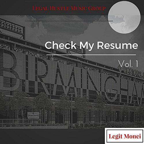 amazon music legit moneiのcheck my resume vol 1 explicit