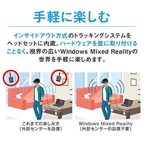 Acer Windows Mixed Reality ヘッドセット AH101CV