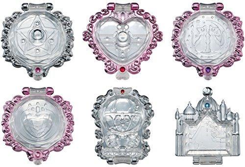 美少女戦士セーラームーン ムーンクリスタルミラー 全6種セッ...