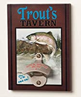 Big Sky Carvers Trout's Tavern Bottle Opener [並行輸入品]