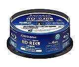 三菱化学メディア 4倍速対応BD-R DL 20枚パック 50GB ホワイトプリンタブルMITSUBISHI VBR260YP20SD1