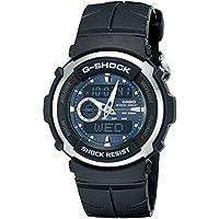 G-Shock G300-3AV Men's Black Resin Sport Watch