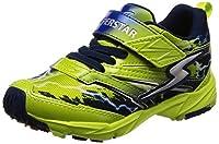 [スーパースター] 運動靴 通学履き バネ バネのチカラ パワーバネ 軽量 マジック ゆったり SS K813 ライム 17 cm 2E