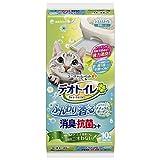 デオトイレ 1週間消臭・抗菌ふんわり香るシート ナチュラルガーデンの香り 10枚入