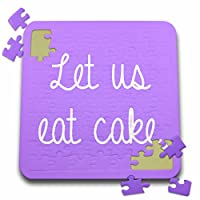 Tory Anneコレクション引用–Let Us Eat Cake–10x 10インチパズル( P。_ 245831_ 2)