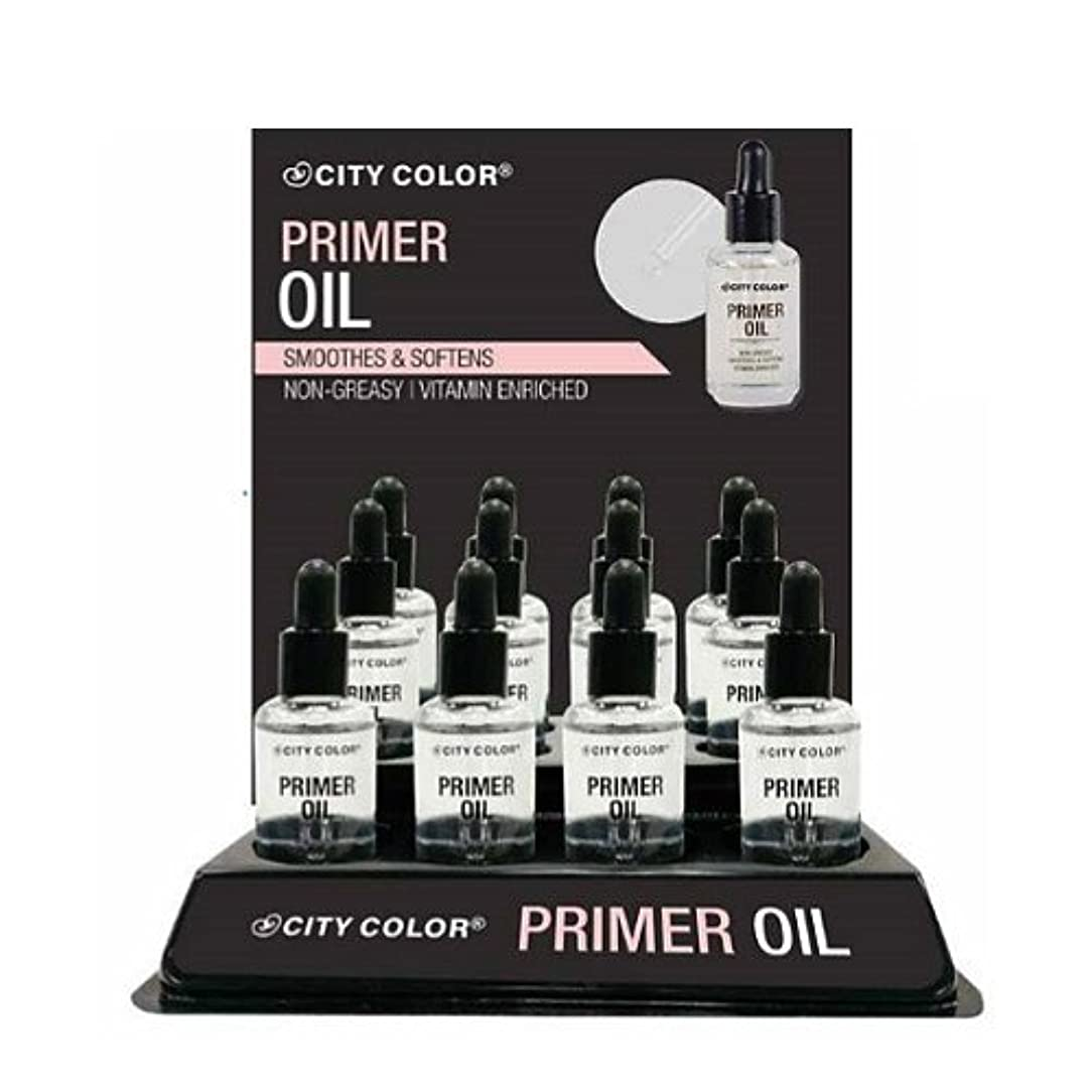 クアッガ特権マリンCITY COLOR Primer Oil Display Case Set 12 Pieces (並行輸入品)