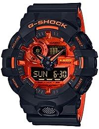 [カシオ]CASIO 腕時計 G-SHOCK ジーショック ブライトオレンジカラー GA-700BR-1AJF メンズ