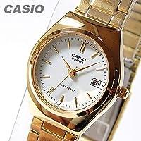 CASIO カシオ LTP-1170N-7A/LTP1170N-7A ベーシック アナログ ゴールド キッズ レディースウォッチ チープカシオ 腕時計 [並行輸入品]