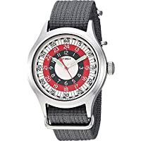 Timex メンズ トッドスナイダー レッドモッド 40mm One Size Grey/Red/White