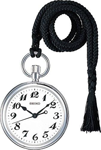 [セイコー] SEIKO 鉄道時計SVBR003純正 懐中時計用 提げ紐 黒