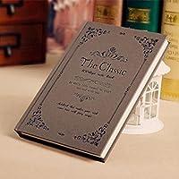 クリエイティブなシンプルな日記A5の目を肥厚させる学生ノートブックの文房具ハードコピービジネスメモ , lace medium medium