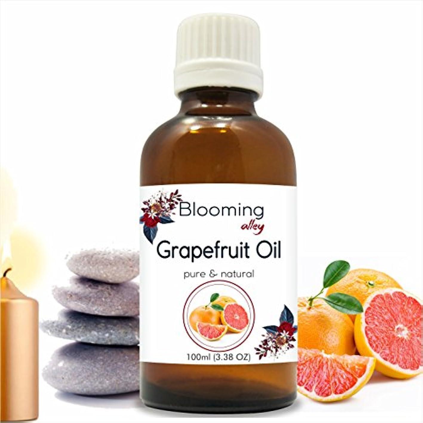 収入テクスチャー第四Grapefruit Oil (Citrus Paradisi) Essential Oil 100 ml or 3.38 Fl Oz by Blooming Alley