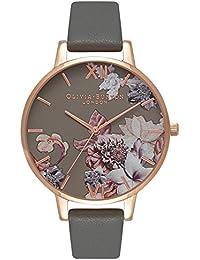 オリビアバートン OLIVIA BURTON 腕時計 MARBLE FLORALS DARK GREY & ROSE GOLD OB16CS08