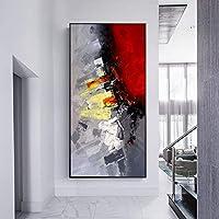 デコレーション ポーチ装飾画のリビングルームダイニングルームのオイル壁画大きな絵を描くオイル ギフト (Size (Inch) : 60x120cm)