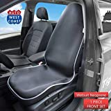 West Coast Auto Car Seat Cover Protector Waterproof - Non-Slip Neoprene Automobile Seats Protector Universal Fit - Perfect fo