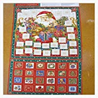 アドベントカレンダーポケットSANTA - クリスマスファブリッククラフトキット - NU036