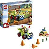 LEGO 4+ Disney Pixar's Toy Story 4 Woody & RC 10766 Building Kit