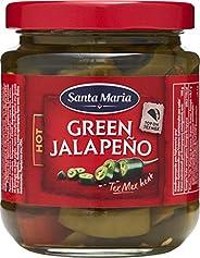 Santa Maria Tex Mex Green Jalapeno (Hot), 215 g