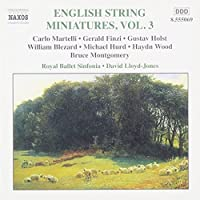 English String Miniatures 3 by VARIOUS ARTISTS (2001-10-16)
