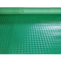 PVCゴム滑り止めマット、プラスチックフロアマット、防水および耐摩耗カーペット CONGMING (色 : Green, サイズ さいず : 0.9m*5m)